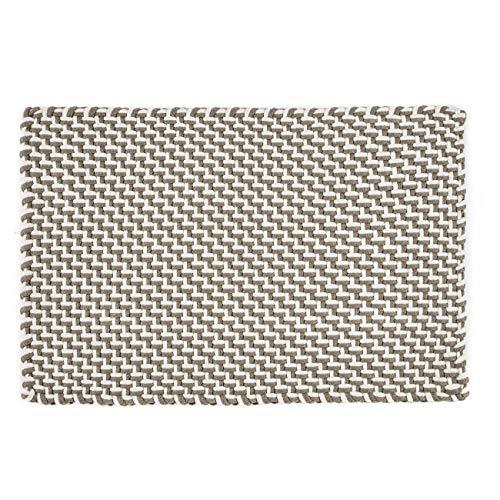 Pad - Fußmatte - Fußabtreter - Pool - in/Outdoor - Sand-White/beige-weiß - 52 x 72 cm