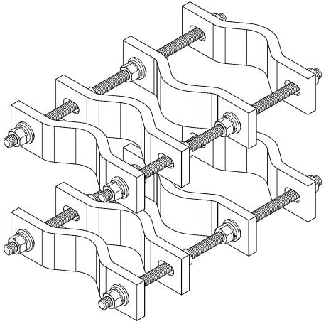 CommScope - Pipe to High Seasonal Wrap Introduction order Clamp