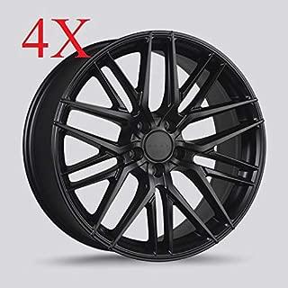 Drag DR-77 Wheels 18X8 5x108 Matte Black Rims