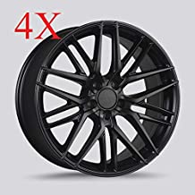 Drag Dr-77 Wheels 20x9 5x114.3 Matte Black Rims
