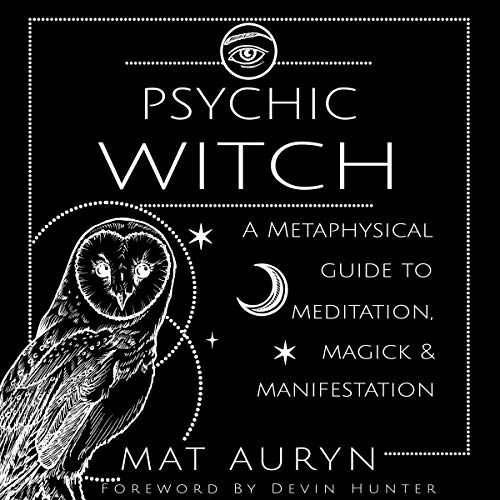 Psychic Witch Audiobook By Mat Auryn cover art