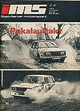 Illustrierter Motorsport 4/1987 DDR-Zeitschrift