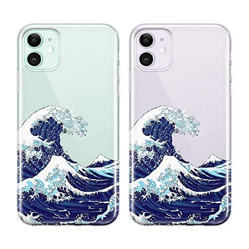 Classic Japanese-style Wave Phone Case
