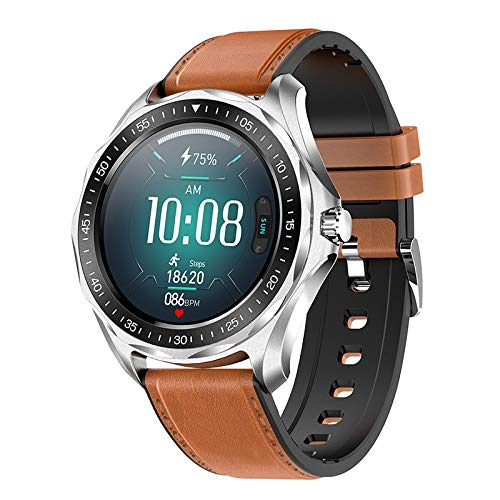 JKC Plus reloj inteligente hombres IP68 impermeable ritmo cardíaco fitness Tracker reloj inteligente para Android IOS smartwatch Bluetooth 5.0