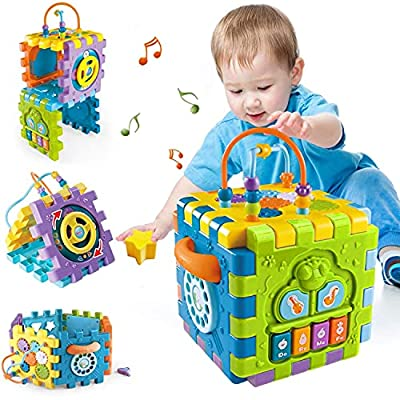 Amazon Promo Code for Cube Toddler Toys for 612 MonthsEarly Educational Musical 25092021121909