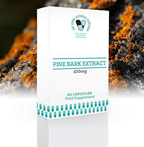 Pine Bark Extract 100mg - 60 Capsules