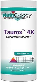 NutriCology Taurox 4X 80 pellets 4 Grams (0.14 oz)