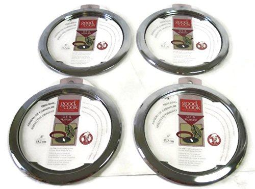 Good Cook Chrome Range Trim Ring (6