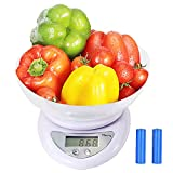 ★【Fast and Accurate Scale with Tare Function】 Measurement Units- grams, ounces, pounds; Graduation: 1g, 0.01oz, and 0.001lb;Minimal Weight Amount: 2 g, Maximum Weight Amount: 11 lbs;Boasts auto-zero funciton, tare function, and auto-off function / lo...
