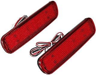 Monland Land Cruir 100/Cygs LX470用、車LEDリアバンパーリフレクターライト、LED警告灯、ブレーキランプ、テールランタン