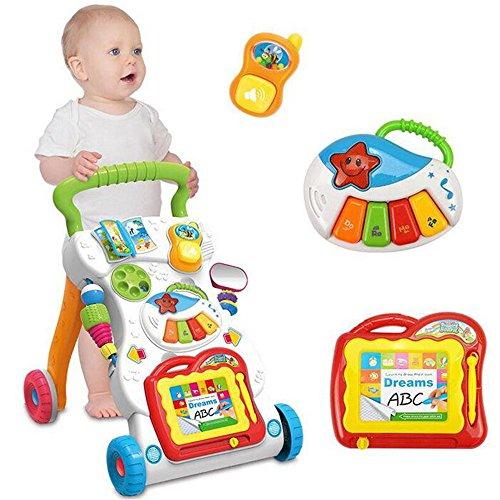 Rainbow Fox Nuovo Giocattoli Girello per formazione Baby\'s camminare e primo passo migliore i regali per bambino