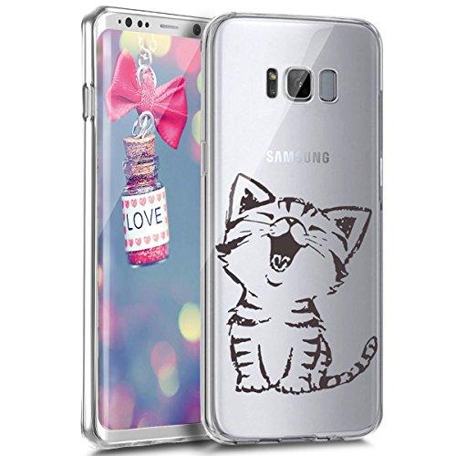 EUWLY Coque en Silicone pour Galaxy S6 Edge Ultra-Mince Anti-Choc Flex Soft Gel TPU Doux Caoutchouc Bumper Coque Etui Housse de Protection Case,#2