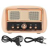 Socobeta Vintage Wireless-Lautsprecher HM13 Bluetooth-Lautsprecher Klare...