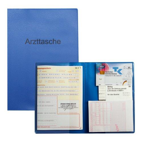 Arzttasche DIN A6 blau