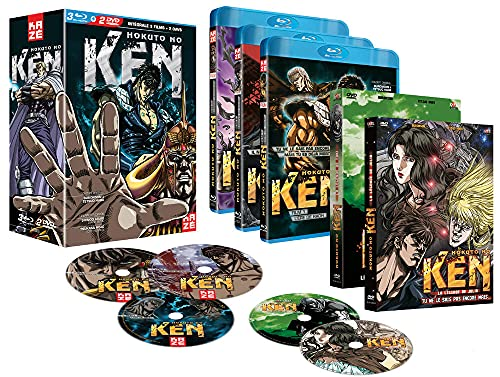 Hokuto no Ken-L'intégrale des 3 Films + 2 OAV [Blu-Ray]