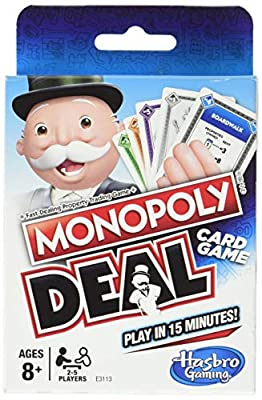 Monopoly Deal Games by Hasbro