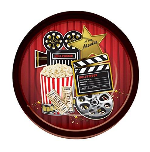 Forum Novelties X75863 Im Kino Essteller, Bunt, Mehrfarbig, Einheitsgröße