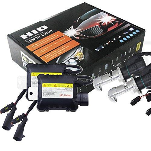 2pcs 55W H4 HID Bi-Xenon HI/LOW Headlight Bulbs Conversion KIT 3000-12000K
