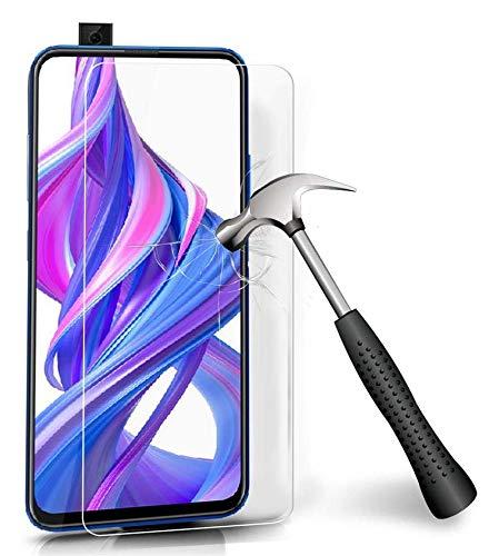 COPHONE® Lot 2 Verres trempé Compatible avec Huawei P Smart Z, Film de Protection écran Premium Anti Chocs et Casse, Anti Empreintes, Bords arrondis,dureté Max 9H Tempered Glass 2,5d