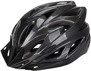 Mountain Bike Integrated Molding Safety Hood Helmet (Black, 220g)