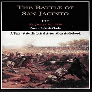 The Battle of San Jacinto audiobook cover art