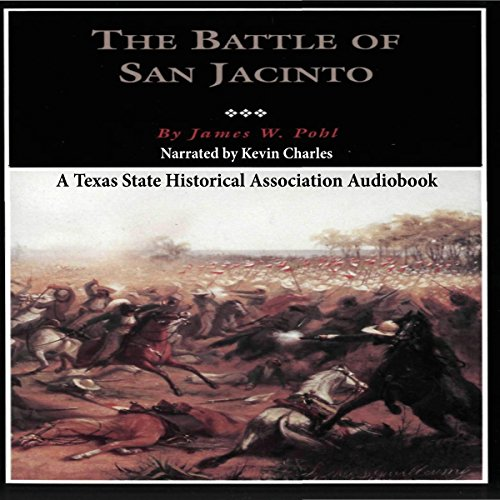 The Battle of San Jacinto audiobook cover art