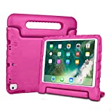 Bolete Kids Case for iPad 10.2-inch 2019 / iPad Air 3rd Generation 10.5' 2019,Lightweight Handle Child Friendly Shockproof Protective Cover for iPad Air 10.5' 2019/iPad Pro 10.5 2017, Rose