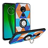 Alapmk Kompatibel mit Motorola Moto G7 Hülle, Pattern