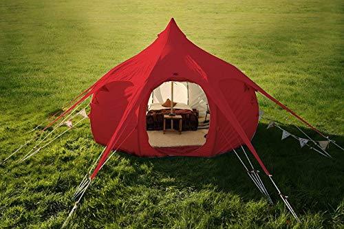 Original Lotus Belle Red 16ft Hybrid Deluxe Tent