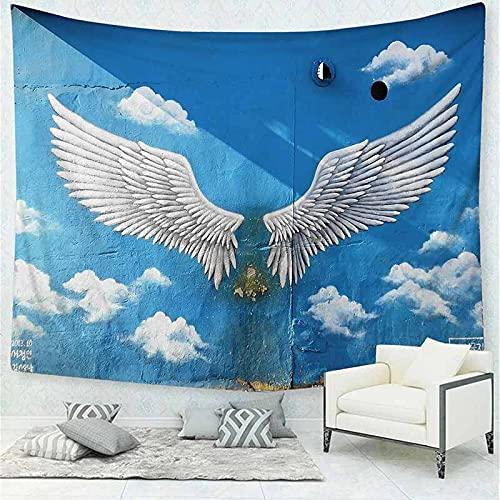 Tapiz psicodélico montado en la pared, alfombra de pared hippie bohemia, alfombra de pared para el hogar, tapiz de mandala bohemio, manta A5 130x150cm