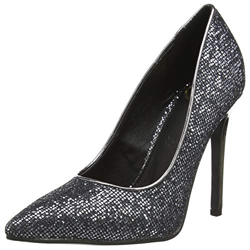 Buffalo Damen FEMI Pumps, Grau (Pewter 001), 38 EU