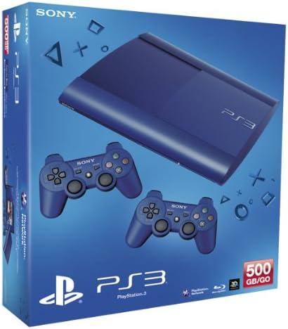 PlayStation 3 - Console 500 GB, Blue con 2 DualShock 3, Blue [Bundle]