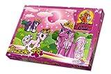 Noris 606037369 - Filly Unicorn - Auf der Wiese, 48 Teile Puzzle