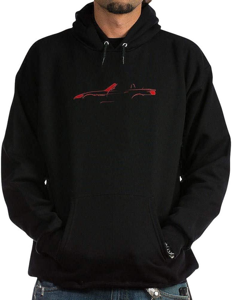 CafePress 40% 2021 spring and summer new OFF Cheap Sale Red S2000 Dark Hoodie Sweatshirt