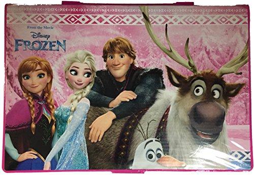 Kids4shop die Eiskönigin Frozen Anna ELSA 72 TLG. - großer Malkoffer - Malset - zum basteln oder malen / Filzstifte / Wachsmalstifte / Buntstifte / Aquarellfarbe - Schreibset + Sticker