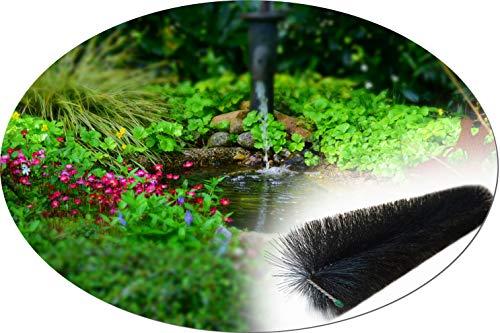 20 pièces Filtre Brosse 80 cm étang Brosse pour jardin étang u koiteich étang Filtre