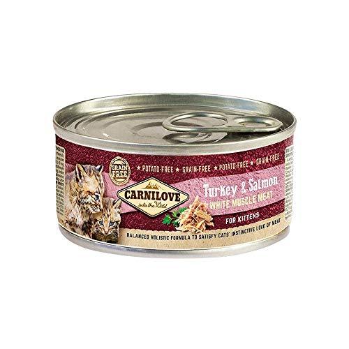 Carnilove Feline Kitten Pavo Salmon Caja 12X100Gr 1200 g