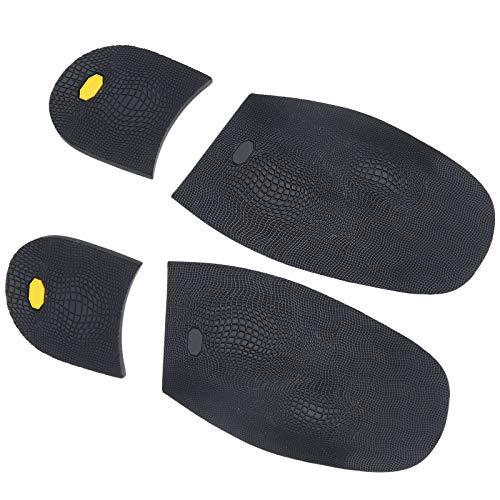 OTOTEC Almohadillas protectoras antideslizantes de goma para zapatos de tacón alto para hombres y mujeres