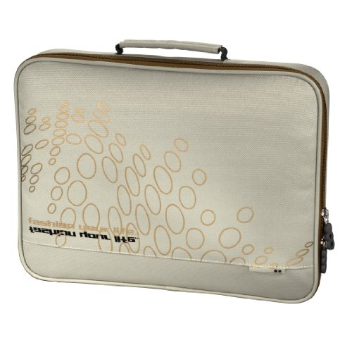 aha: Notebook-Sleeve Kink bis 34 cm (13,3 Zoll) beige