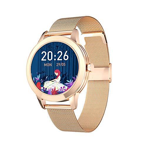 Zuoli Fitness Tracker, Women Smart Fitness Watch, Heart Rate Monitor Smart Bracelet IP67 Waterproof Smart Bracelet with Health Sleep Activity Tracker Pedometer for Smartphone(Black)