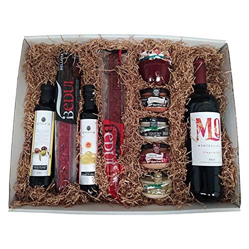 Cesta gourmet regalo especial y original para salir de lo común, regalo cumpleaños o cualquier evento.