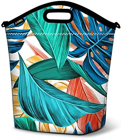 Large Neoprene Lunch Bag Insulated Lunch Tote Bag for Women for Work Reusable Lunch Box Soft product image