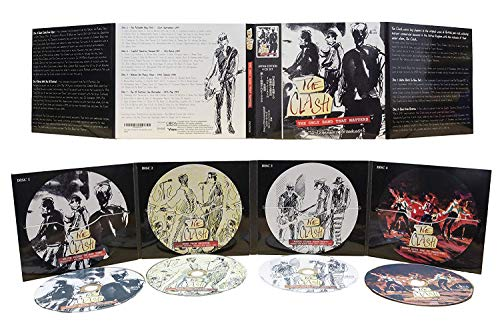 The Only Band That Matters: 4 CD SET - The Legendary Broadcasts