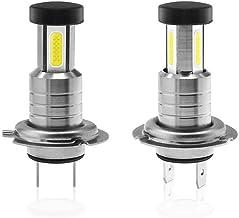 Phoneix H7 Led Headlight Bulbs Conversion Kit of 2, CSP Chips 110W 6000K 26000LM Xenon White, Super Bright Headlight Replacement, Low Beam Fog Light Bulb