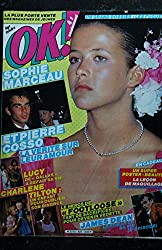 OK ! âge tendre 437 JUIN 1984 COVER SOPHIE MARCEAU JAMES DEAN CHARLENE TILTON