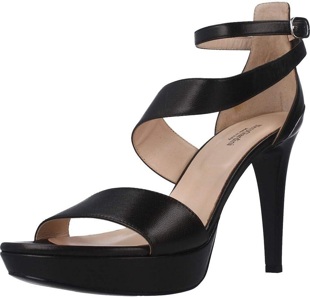 Nero giardini scarpe da donna eleganti con tacco alto in pelle E012820DE Nappa Pandora Nero