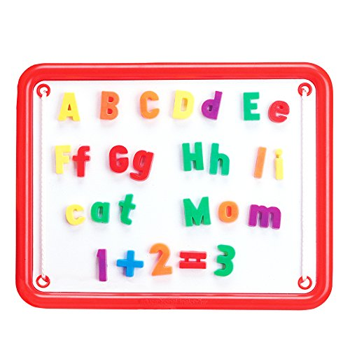 Educational Insights Magnetic AlphaBoard Kit, Includes 72 Magnetic Letters and 27 Math Symbols and Numbers, Ages 4 and up.