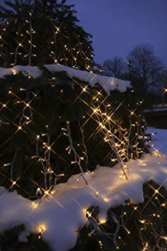 Star 466-56 System LED Curtain-Extra, 102 L Couleur Chaud, câble: Blanc ca. 1 m x 2 m, extérieur, connectable, Boite coloré