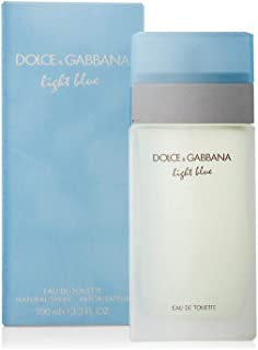 Dolce Gabbana Light Blue Feminino Edt 100ml - 100% Original.