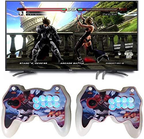 Hcchzr. [2021アップグレード] Pandora's Box 3Dホームアーケードゲーム機|3333レトロなHDゲーム|フルHD 1280x720ビデオ|2人のプレーヤーゲームコントロール|マルチプレイヤーオンラインをサポートHDMI/VGA/USB/AUXオーディオ出力 (Color : A)